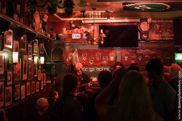 Musica en directo pub Galway Irlanda