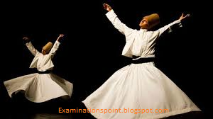Sufi Mystics performing their rituals