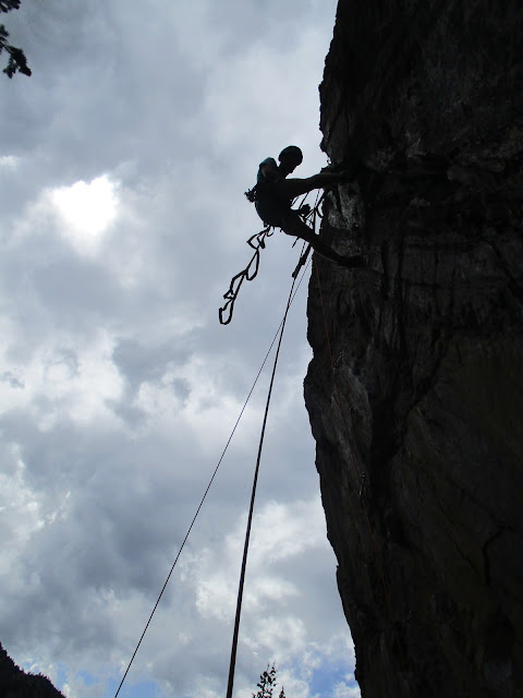 Trad and Aid Climbing Training with Derek