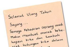 √ Kumpulan ucapan selamat ulang tahun Romantis untuk Istri/Suami