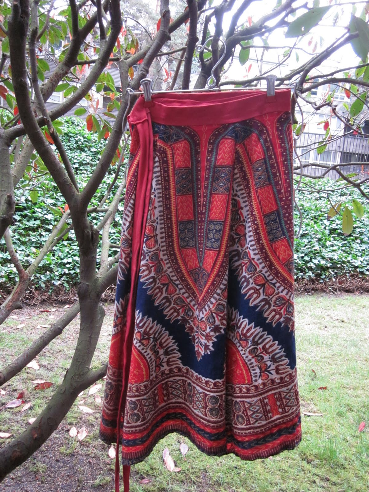Seaddle Bags African Dashiki Dress To Wrap Skirt