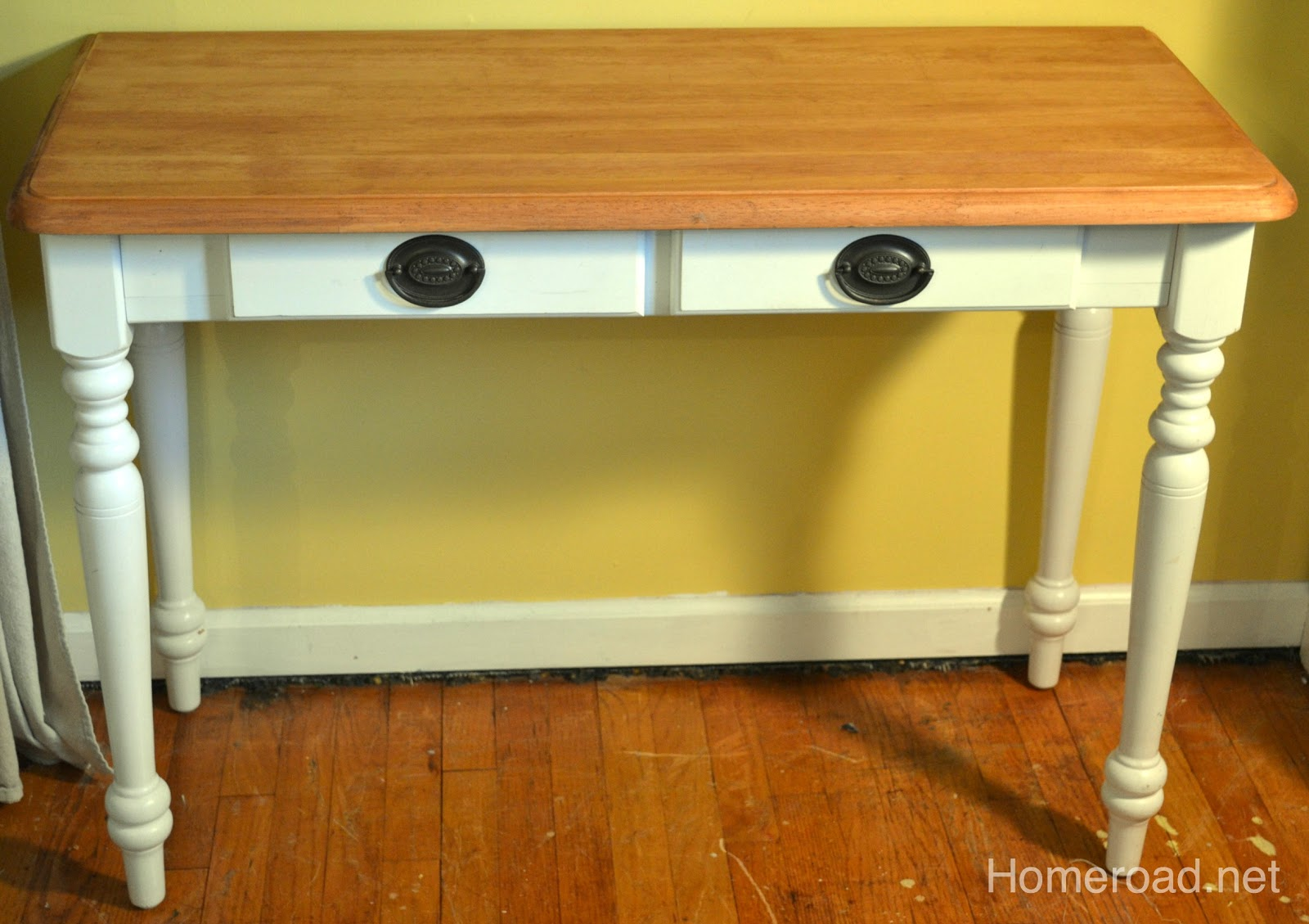 Diy Re Do Sewing Table Homeroad