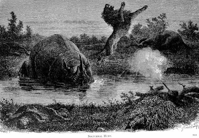 Africa 1889 poor sport hunting