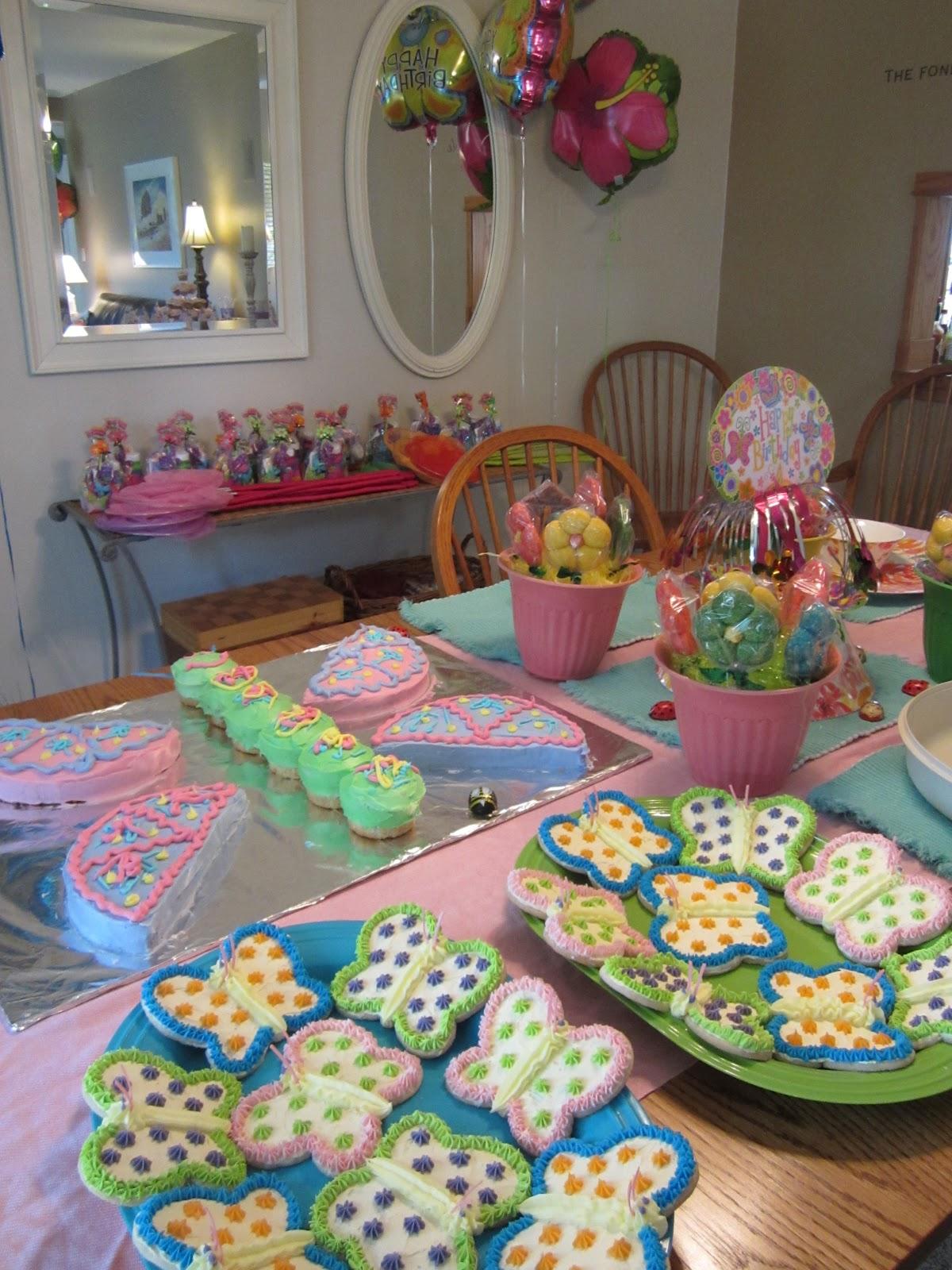 Oh, My Soul Rejoice!: Butterfly & Flower Party