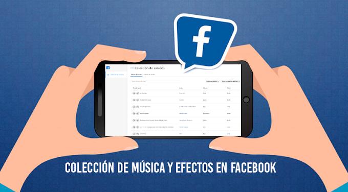 Facebook ofrece su nueva colección de pistas de audio y efectos de sonido originales para usar en Facebook e Instagram