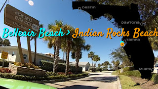 Belleair nach Indian Rocks Beach, Florida USA