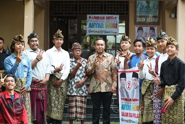 <b>Dialog Dengan Ratusan Pemuda Desa Lendang Nangka, Mori Hanafi Dinilai Cawagub Mewakili Kelompok Muda</b>
