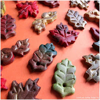 Autumn Crafts for Preschool. Autumn Salt Dough Leaves.