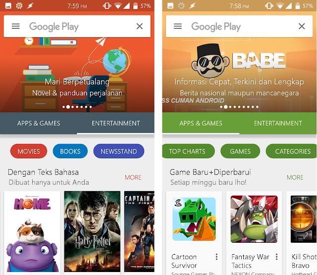 Mengulas Versi Terbaru dari Google Playstore, Sekaligus Penampilan Barunya