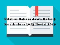 Silabus Bahasa Jawa Kelas 9 Kurikulum 2013 Revisi 2019
