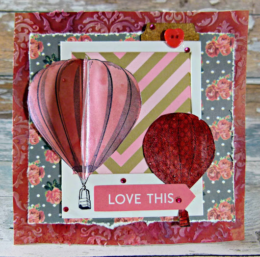How to Create a Hot Air Balloon Greeting Card