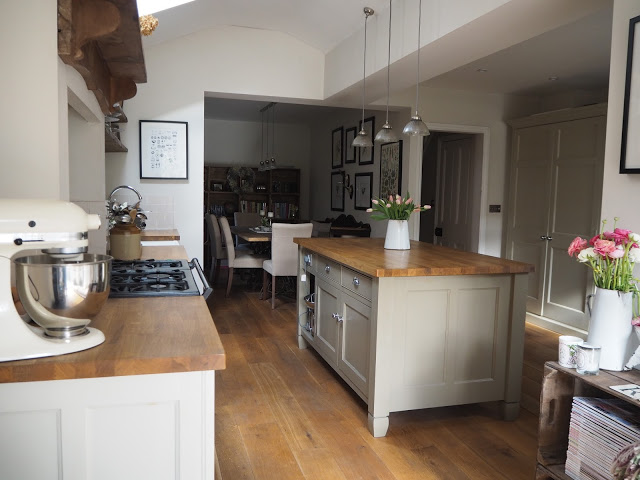 Makeover Painting Kitchen Units With Farrow Ball Roses And Rolltops