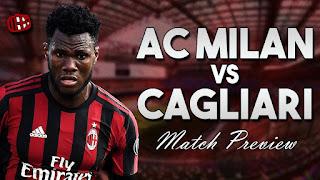 AC Milan vs Cagliari Live Stream online today 27/8/2017