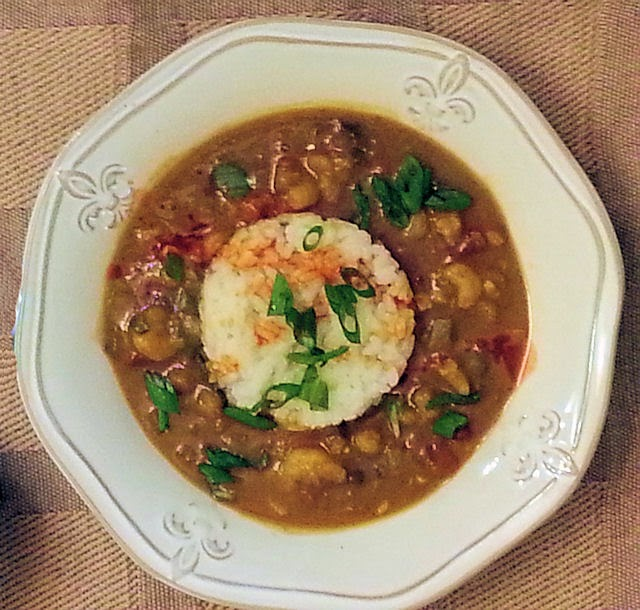 Spicy Shrimp Etouffee