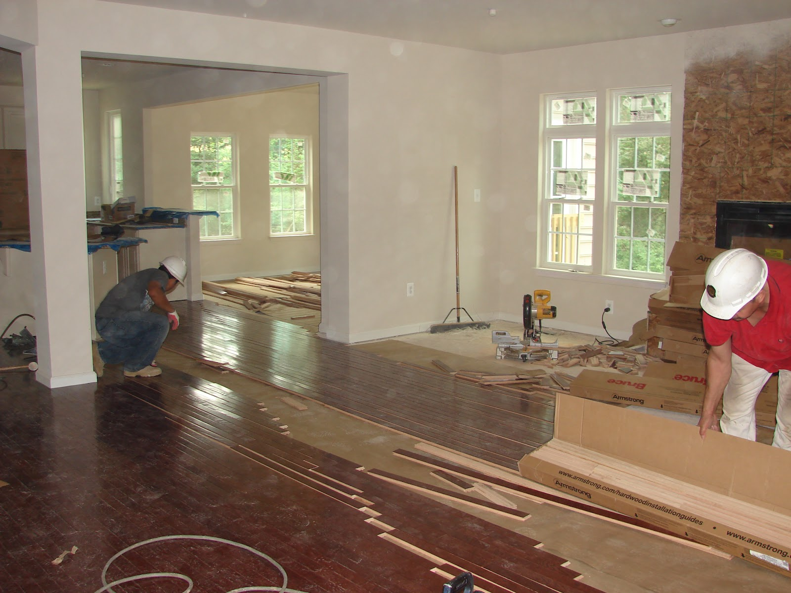 Building A Ryan Home Avalon Men At Work