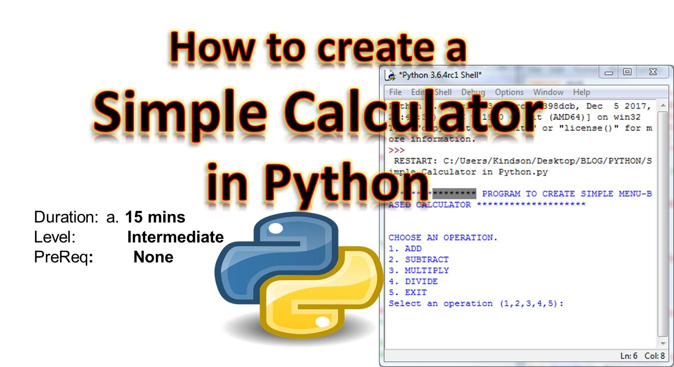 How to Create a Simple Calculator in Python (Try it!) - The