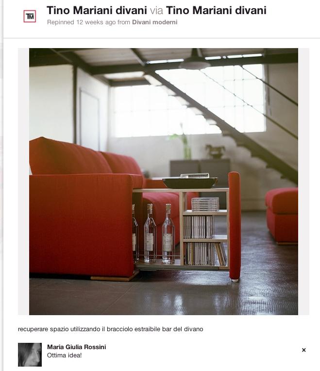 Divani blog tino mariani 411 immagini di divani e for Poltrone d arredo