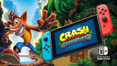 Crash Bandicoot N. Sane Trilogy Coming To Nintendo Switch - Crash Bandicoot N. Sane Trilogy Nintendo SWITCH XCI NSP