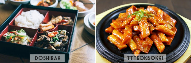 Comidas Coreanas: Doshirak e Tteokbokki