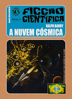 bolsilivro sos ficção científica cedibra série azul ralph barby nuvem cósmica
