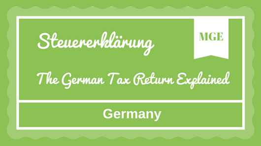 Tax Refund in Germany