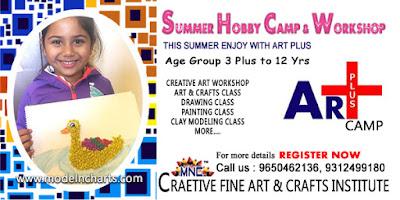 Summer Camp Summer Art Workshop Craft Class At Home Delhi Ncr