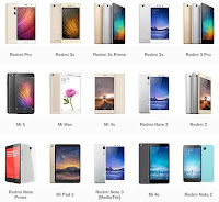 """""""Daftar Terbaru Xiaomi Hari ini"""""""