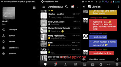 Download BBM Mod Tema Black V.2.13.0.22 Exclusive