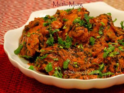 Methi Murg | Fenugreek Chicken Curry