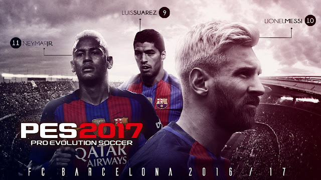 PES 2017 Start Screen Pack by Rahardian Fajar