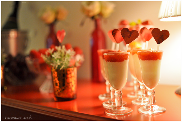 como preparar noite romântica