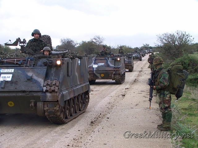 Image result for greek army motorized