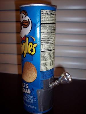 Pringles Homemade Bong