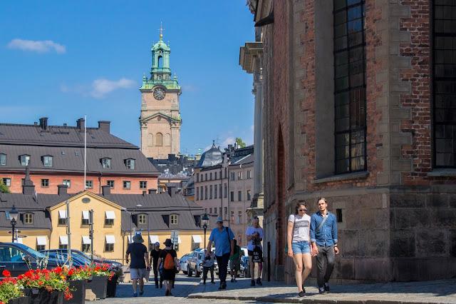 Catedral de São Nicolau, em Gamla Stan, o centro histórico medieval de Estocolmo