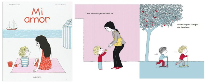 cuento infantil sobre emoción amor Mi amor Astrid desbordes kokinos educacion emociona