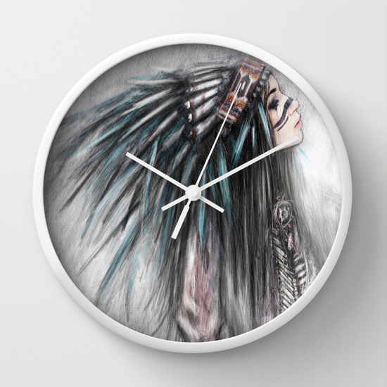 Clocks from Society6