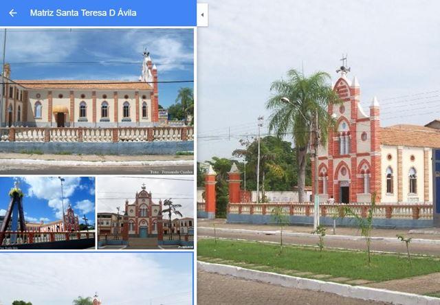Fotos de Nando Cunha para Google Maps com imagens da Igreja de Santa Txereza D'Ávila em Imperatriz