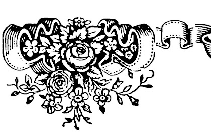 Floral Border Designs Clip Art