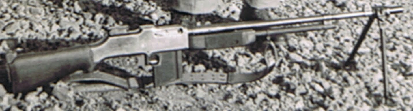 Closer look at M1918A2 BAR