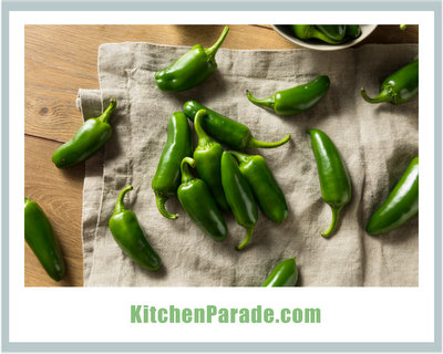 Cooking with Jalapenos ♥ KitchenParade.com