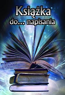 Książka do napisania - OKŁADKA