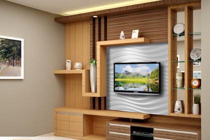 293+ Contoh Desain Furniture Tempat Tv Paling Bagus