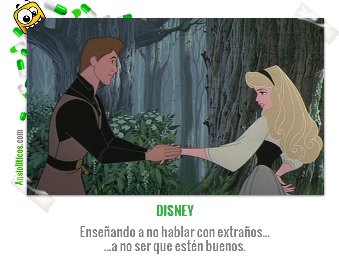 Chiste de Disney para no hablar con extraños