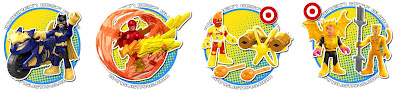 Imaginext Firestorm Sinestro Batgirl Cheetah Target Super Friends Justice League 2016 batman Diaclone dc comics