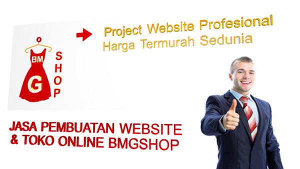 Jasa Pembuatan Website & Toko Online BMGShop