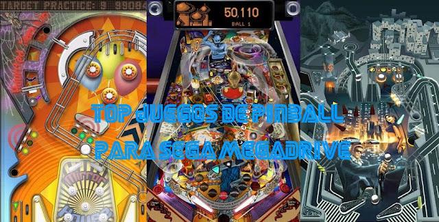 juegos pinball megadrive