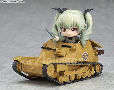 Figura Carro Veloce CV-33 (L3/33) Nendoroid More Girls und Panzer the Movie