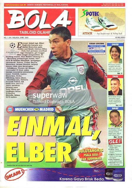 EINMAL ELBER BAYERN MUENCHEN 2001