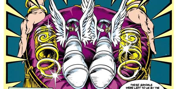 sandals of hermes adalah