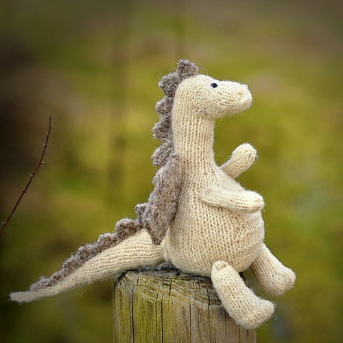 Tarragon the Gentle Dragon - Free Pattern